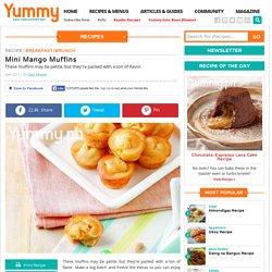 Mini Mango Muffins