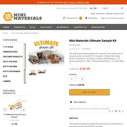 Mini Materials Ultimate Sample Kit