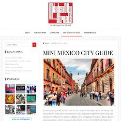 Mini Mexico City Guide - Mexico City Streets