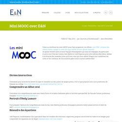 Mini MOOC avec E&N