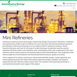 Mini Refinery