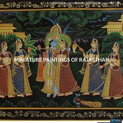 """""""Promoting & Preserving The Indian Art & Artists"""""""