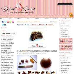Tuto bijoux gourmands : Chocolat fourré