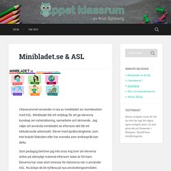 Minibladet.se & ASL