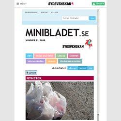 Minibladet - Nyheter Dygnet Runt