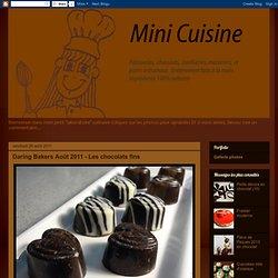 Daring Bakers Août 2011 - Les chocolats fins