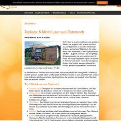 Topliste: 5 Minihäuser aus Österreich - Energieleben