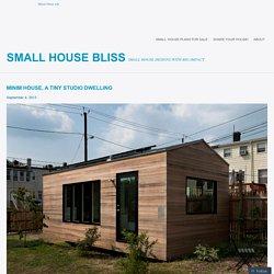 Minim House, a tiny studio dwelling