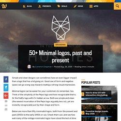 50+ Minimal logos, past and present