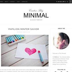 Minimal Clean Responsive: Papilion Minter Savior