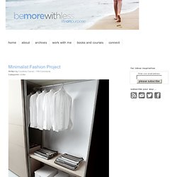 Minimalist Fashion Projects