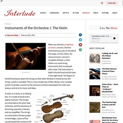 Instruments of the Orchestra - The Violin