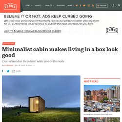 Minimalist tiny home makes living in a box look good