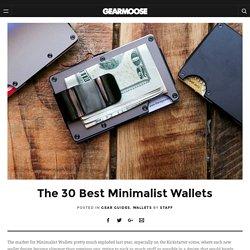 The 30 Best Minimalist Wallets