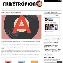 Gráficas minimalistas de los mejores libros! « filamtropica