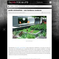 Jardin minimaliste - une tendance moderne