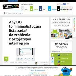 Any.DO to minimalistyczna lista zadań do zrobienia z przyjaznym interfejsem