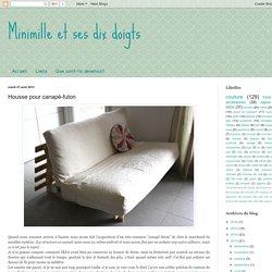 Housse pour canapé-futon