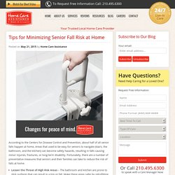How to Minimize a Senior's Fall Risk at Home