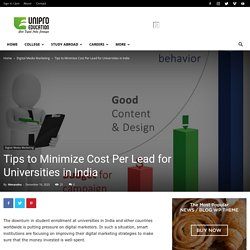 Tips to Minimize Cost Per Lead for Universities in India