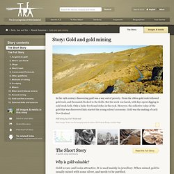 Gold and gold mining