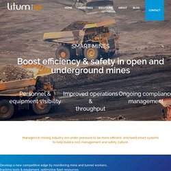 IoT in Mining Industry I Best Safety in Mining Industry
