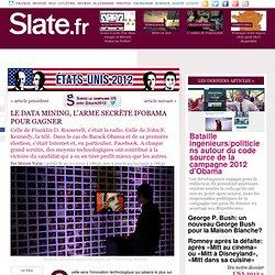 5 – Le data mining, l'arme secrète d'Obama pour gagner