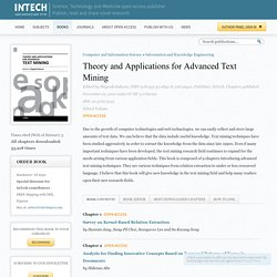 Theory and Applications