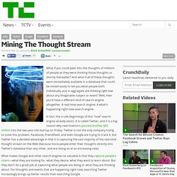 Mining The Thought Stream
