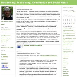 Data Mining: Text Mining, Visualization and Social Media