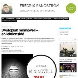 Dystopisk mininovell – en lektionsidé