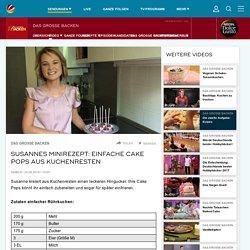 Susannes Minirezept: Einfache Cake Pops aus Kuchenresten