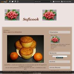 Minis cakes à la clémentine - Soficook