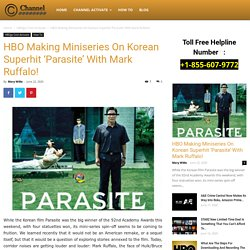 HBO Making Miniseries On Korean Superhit 'Parasite' With Mark Ruffalo!