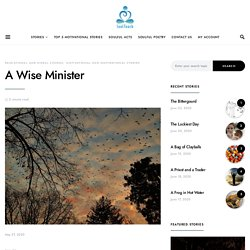 A Wise Minister- Read Educational Story at Soul Touch.