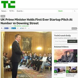 UK Prime Minister Holds First Ever Startup Pitch At No.10 Downing Street