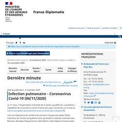 Pays-Bas - Ministère de l'Europe et des Affaires étrangères
