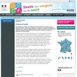 Culture et santé - Espace droits des usagers