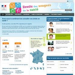 Espace Usagers - Ministère de la Santé et des Sports