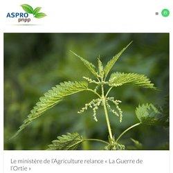 """Le ministère de l'Agriculture relance """"La Guerre de l'Ortie"""" - ASPRO PNPP"""