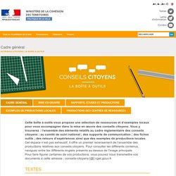 Cadre général - Ville.gouv.fr - Ministère de la Cohésion des territoires