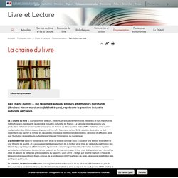 La chaîne du livre - Livre et Lecture