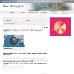 Appel à projets « Art et territoire » / Appels à participation / Actualités / DRAC Bourgogne / Régions