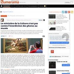 Le ministère de la Culture n'est pas contre l'interdiction des photos au musée