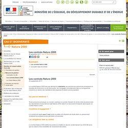 Les contrats Natura 2000