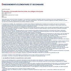 Bulletin officiel n°9 du 27 février 2003 - Ministère de la jeunesse, de l'éducation nationale et de la recherche