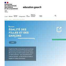 Ministère de l'Education Nationale et de ...
