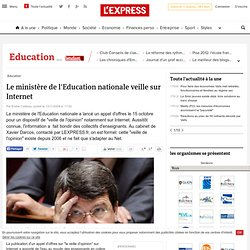 veille de l'opinion - Education Université