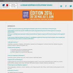 Edition 2016 - Ministère de l'Environnement, de l'Energie et de la Mer