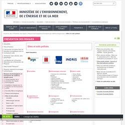 Sites et sols pollués - Ministère de l'Environnement, de l'Energie et de la Mer